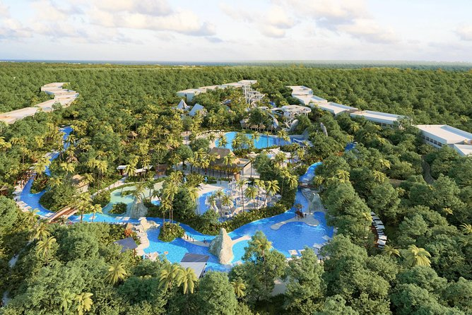 ENJOY the first Luxury WATER PARK in Riviera Maya. Includes round transportation