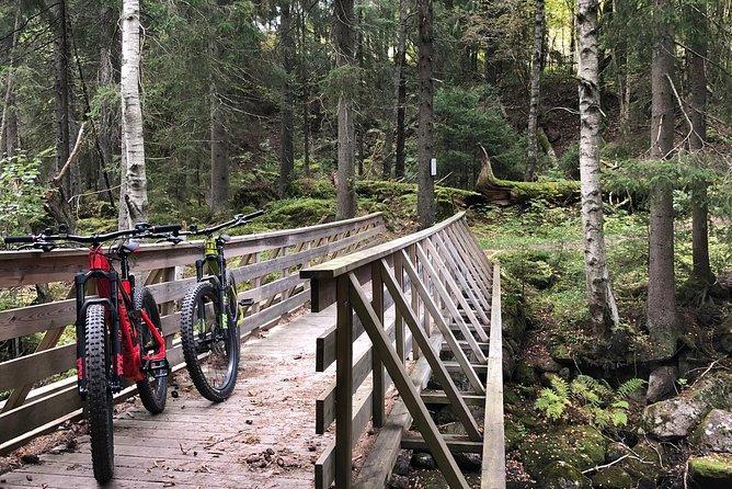 Electric mountain bike tour in Oslomarka