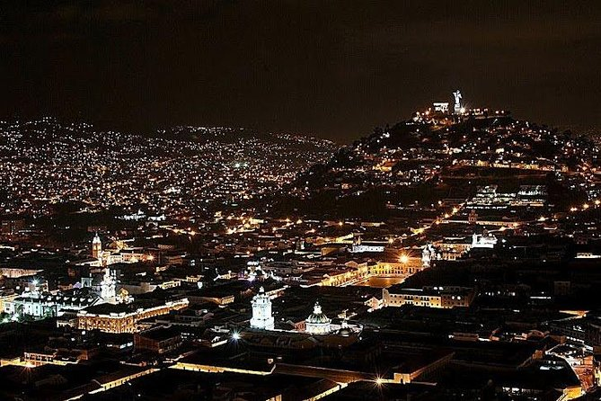 Legends of Quito at night