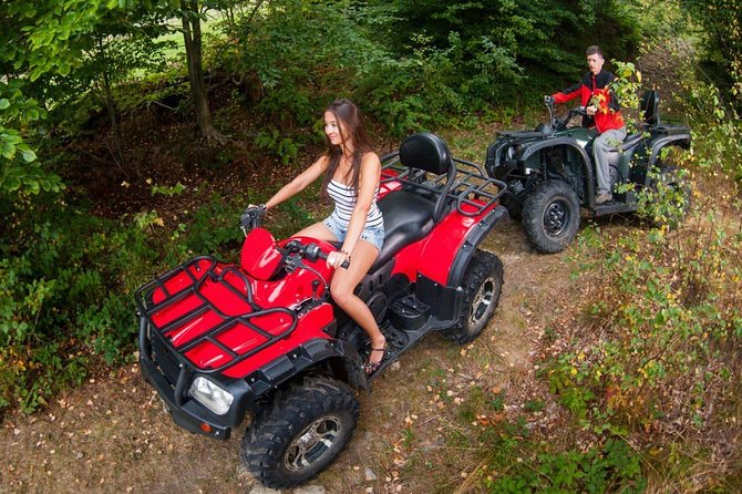 Full-Day Quad Bike Tour of Chianti Wine Region with Lunch