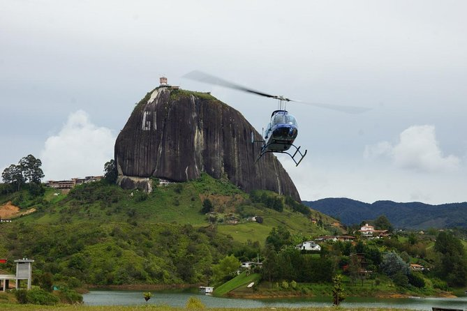 Guatapé helicopter tour