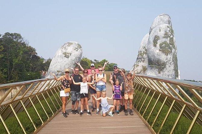 Private Roundtrip Transfer to Visit Golden Bridge Ba Na Hills & My Son Holyland