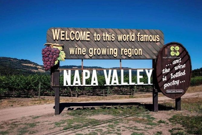 Napa Valley Wine Tasting Day Tour