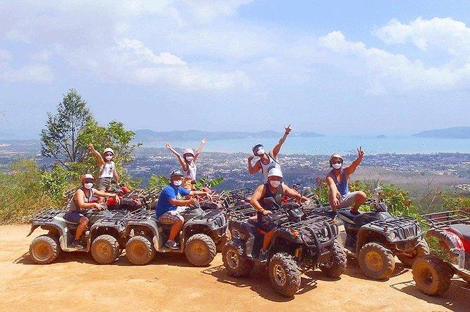 Zipline 18 Platform and ATV Adventure Tour From Phuket