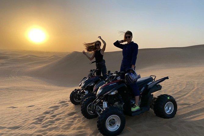 Adventure quad bike tour ( 2 hour private quad biking to deep desert )