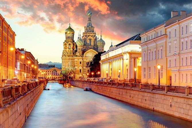 2-day shore group tour of St. Petersburg and boat cruise