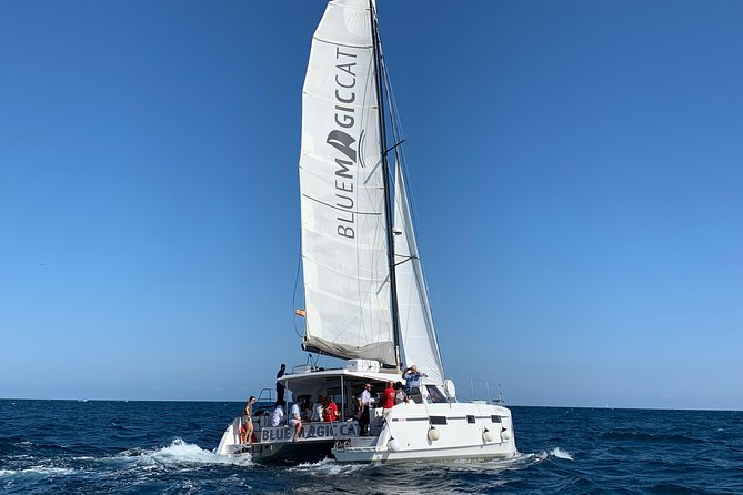 4h Exclusive Catamaran Experience in Barcelona