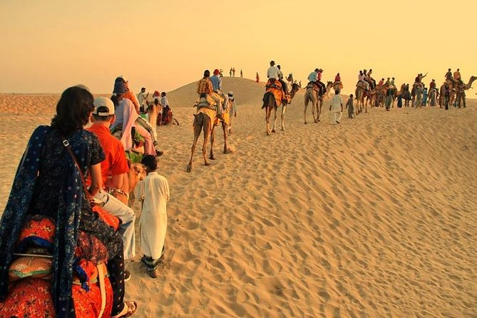 2 hour Sunset Camel Safari Adventure In Pushkar