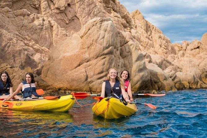 Barcelona Day : Costa Brava Snorkeling and Kayaking Experience