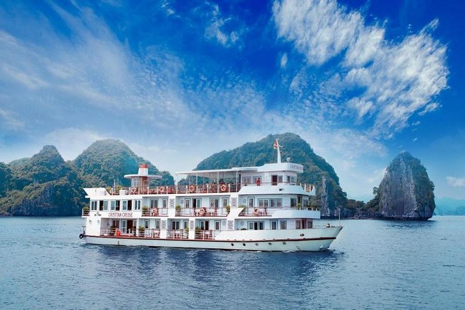 Luxury Bai Tu Long Bay 2 Days 1 Night On Cristina Diamond Cruise 4****