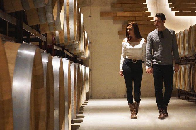 Tour a duas vinícolas com degustação de vinhos