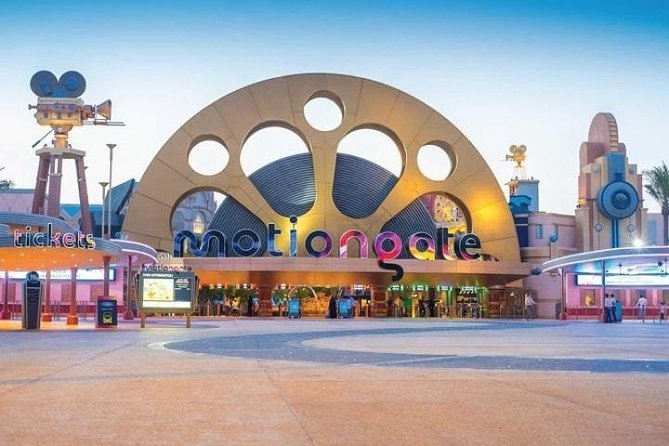 Dubai Parks and Resorts Two Park Pass with Transfer