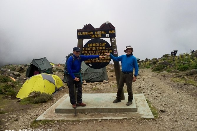 8 days Climb Mount Kilimanjaro via Lemosho Route