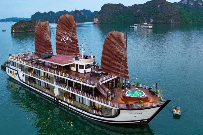 Orchird Cruises - Top Notch Cruise To Visit Halong Bay & Lan Ha Bay ( 1 night)