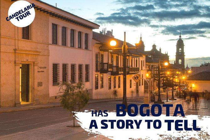 Private Bogota's downtown Tour (Candelaria + Gold Museum+Monserrate Hill)