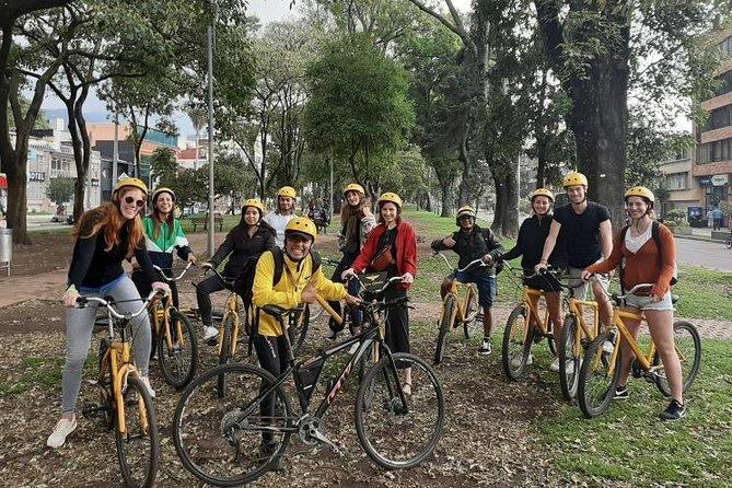 Biking Tour in Downtown Bogotá