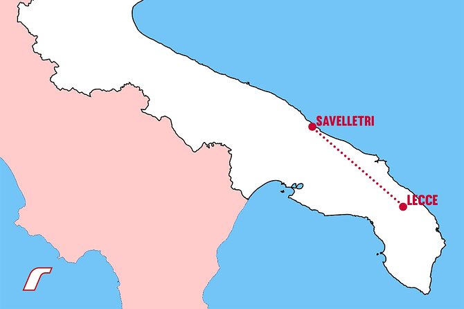 Private transfer from Savelletri to Lecce or viceversa