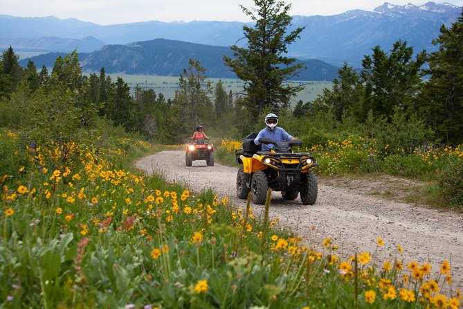 ATV Tour with Teton Views from Jackson Hole with Private Options Available