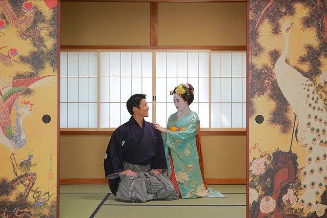 Couple plan (Maiko / Samurai) 16,500 yen Photo taken with Maiko / Samurai