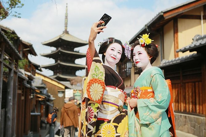 Maiko Stroll Plan 10,890 yen Stroll through the beautiful streets of Kyoto in Maiko style !!