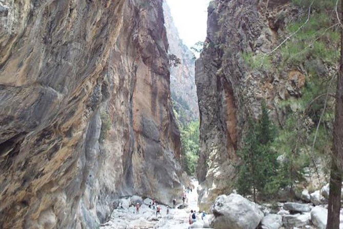 Samaria Gorge Walk: full day incl Lunch from area Hersonissos