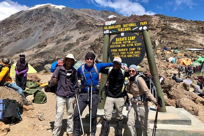 Trek Mount Kilimanjaro via The Lemosho Route - 10 Day Adventure (8 Day Climb)