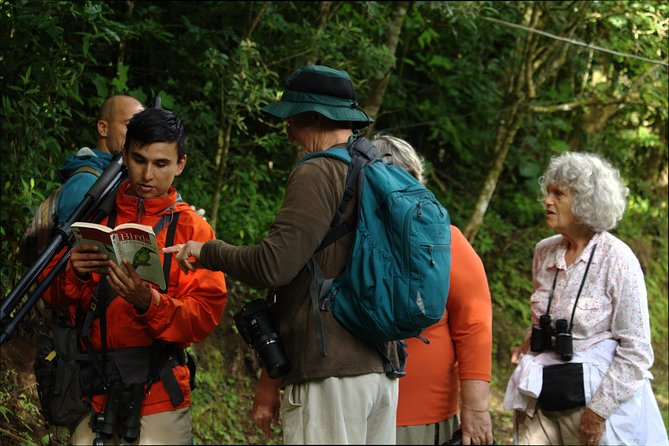 Birdwatching Tour in Monteverde at 2 PM with Entrance Fees and Snacks