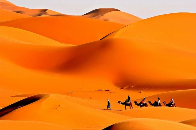 Private 3-Days Desert Tour from Marrakech to Fes via Merzouga Desert