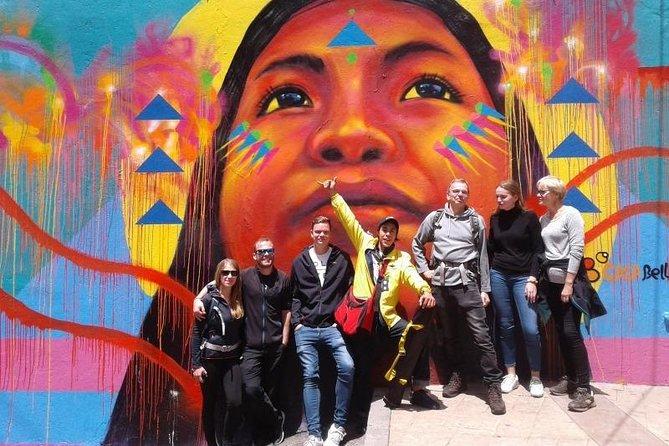 Graffiti Tour in La Candelaria Bogotá