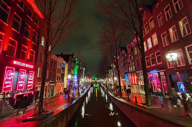 1.5 Hour Walking Tour of Amsterdam's Red Light District with a Local