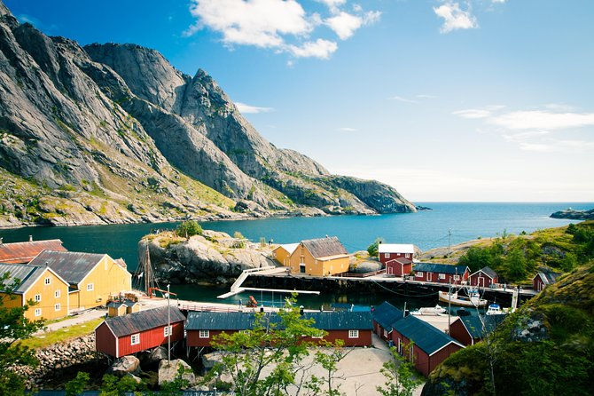 The charming fishing village of Nusfjord