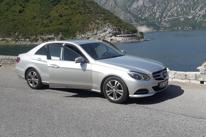 Private transfer from Podgorica airport or Podgorica to Tivat