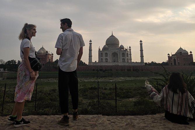 Same day trip to Agra-Car.