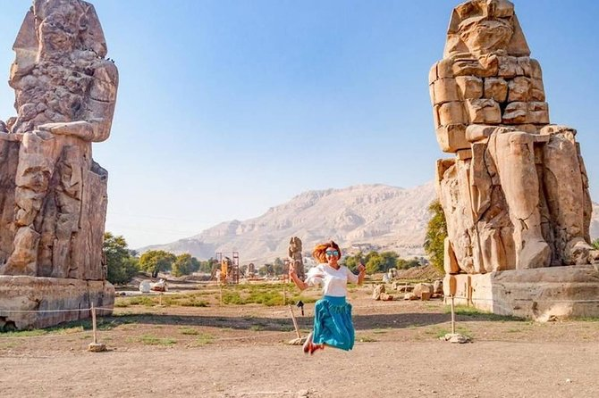 Luxor Private West Bank Tour : Valley of Kings, Hatshepsut and Colossi of Memnon