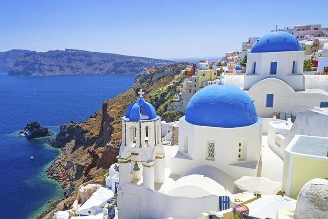 Santorini 1 day with excursion from Heraklion with highspeed
