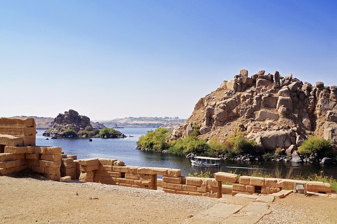 Day tour to visit Philae temple, obelisk and High dam in Aswan