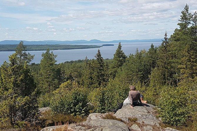 Hike in Digerbergets nature reserve, Tällberg Dalarna