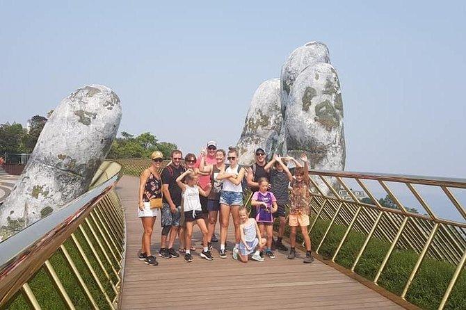 Full-Day Ba Na Hill Marble Mountain Golden Bridge Private Tour