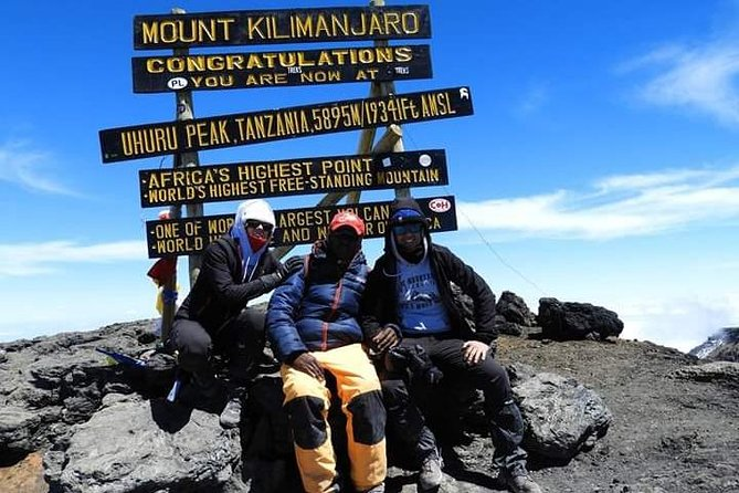 8 Day Private Guided Hiking Tour of Kilimanjaro - Machame Route