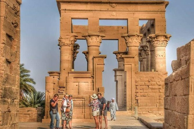 Full Day Guided Tour to Unfinished Obelisk, High Dam and Philae Temple by Boat