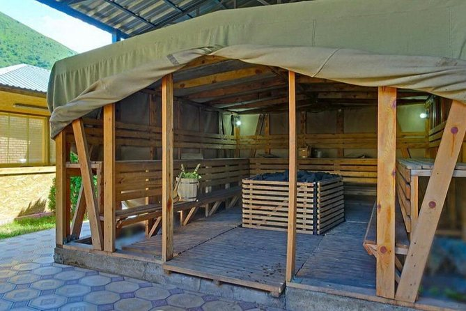 Exclusive Tour: Scythian style unique sauna at nature + Kazakh Grill (Picnic)