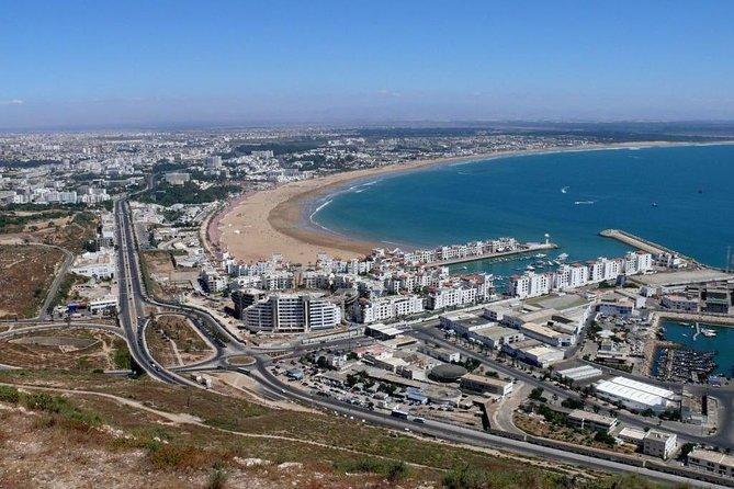 Agadir city tour & 1 Hour Relaxing Massage