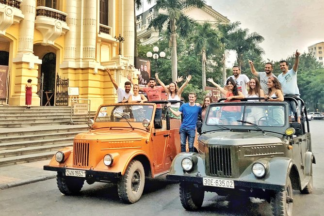 Amazing tour:Vintage Gaz69 Jeep,food,culture,sight; walking tour; puppet show