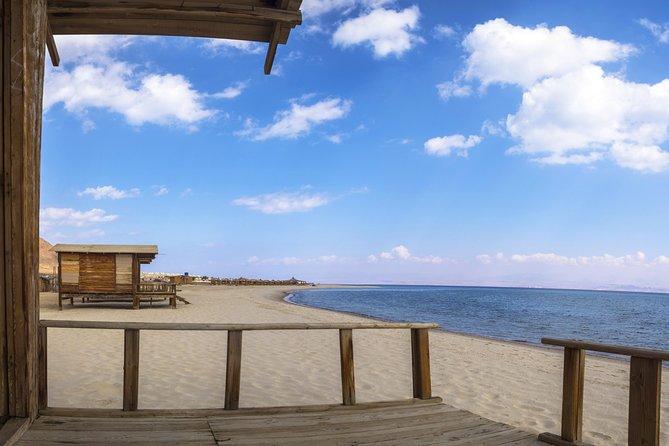 Ras Abu Gallum and blue lagoon