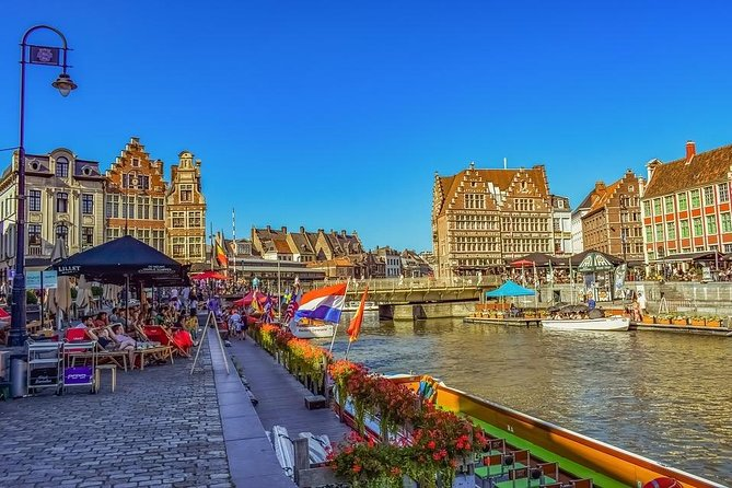 Private 6-hour Tour to Ghent from Brussels with driver and guide (2 hs in Ghent)