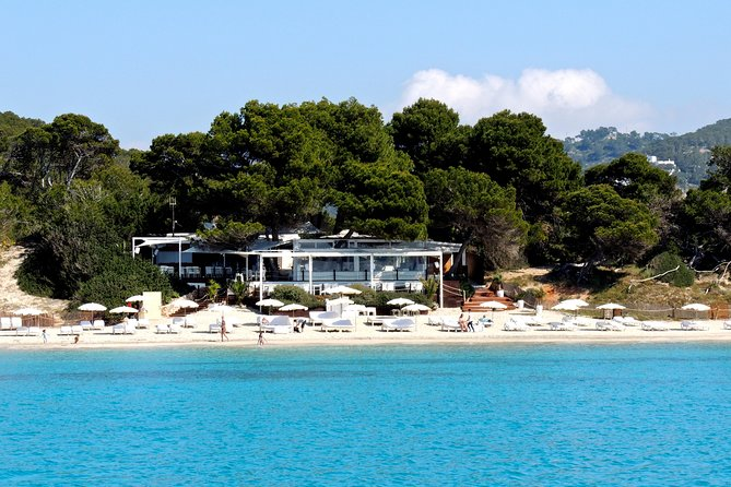 Excursion to the southern beaches of Ibiza by motor boat