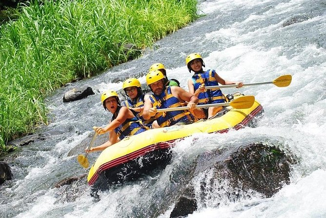 Amazing White Water Rafting at Telaga Waja River
