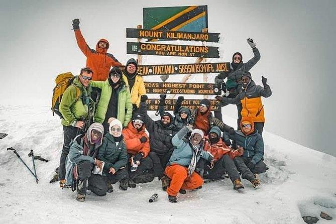 6 Days Machame route Kilimanjaro climbing