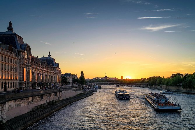 Orsay Museum Experience with Digital Audioguide & Seine River Cruise