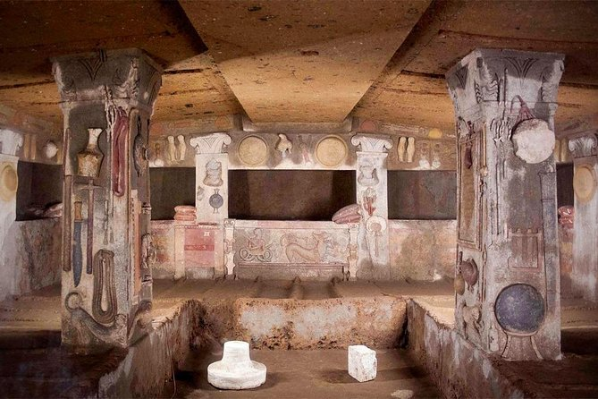 Day trip from Rome: The Etruscan heritage: Tarquinia&Cerveteri - private tour